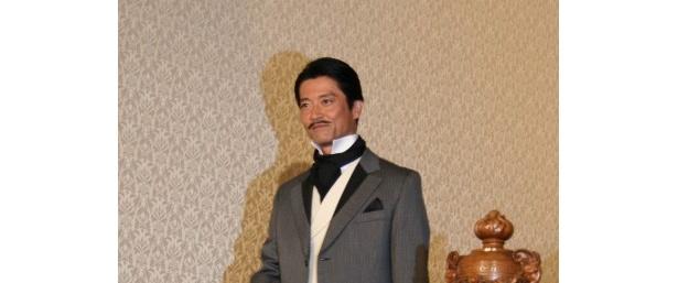 米倉と共演ということで、出演を即決した寺脇