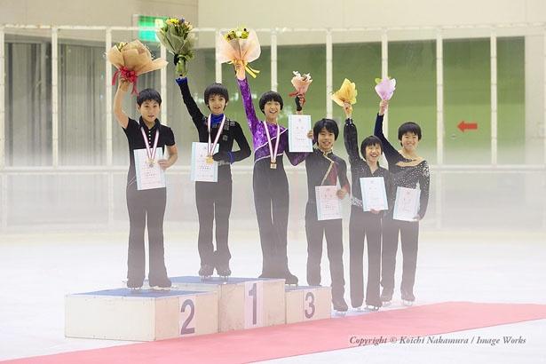 2006年全日本ノービスの表彰式にて