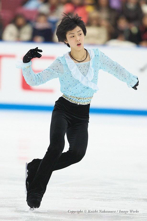 2008年全日本選手権での演技