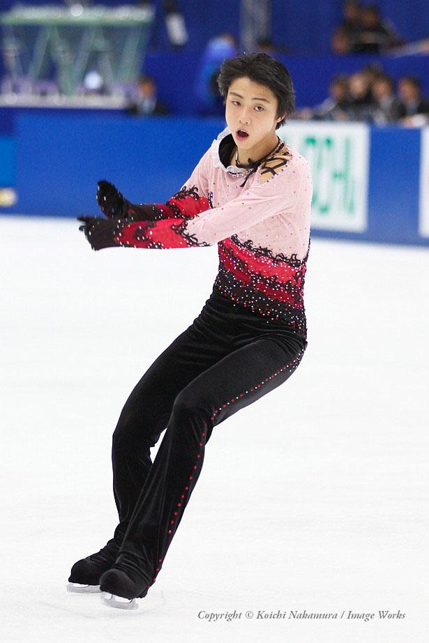 2010年全日本選手権での演技