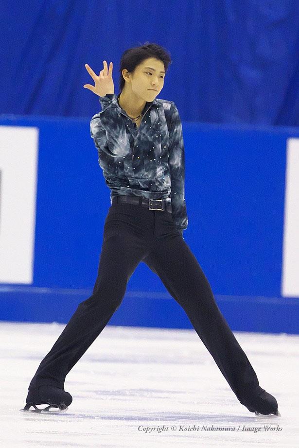 2012年全日本選手権での演技