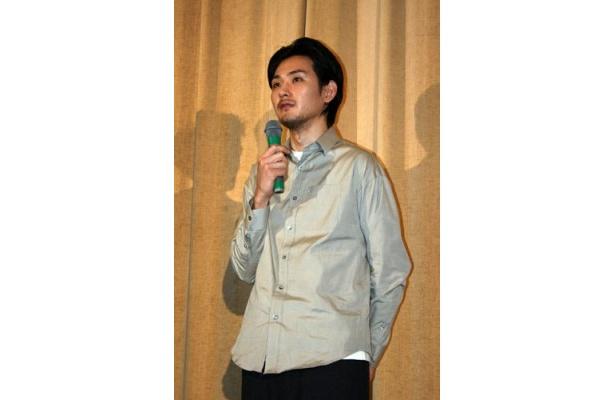 自身の演じた行天同様、飄々とした雰囲気の松田龍平