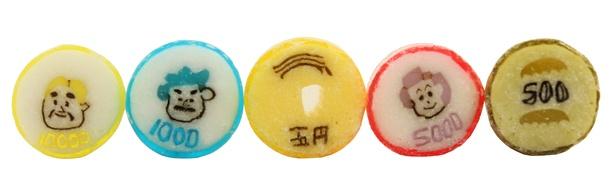 """【写真】総額10万円以上の""""お金風""""キャンディがユニーク!"""