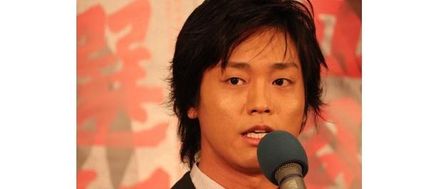 【写真】「時代劇は初めてですが、自分のイメージ通りに演じられてます!」と永井