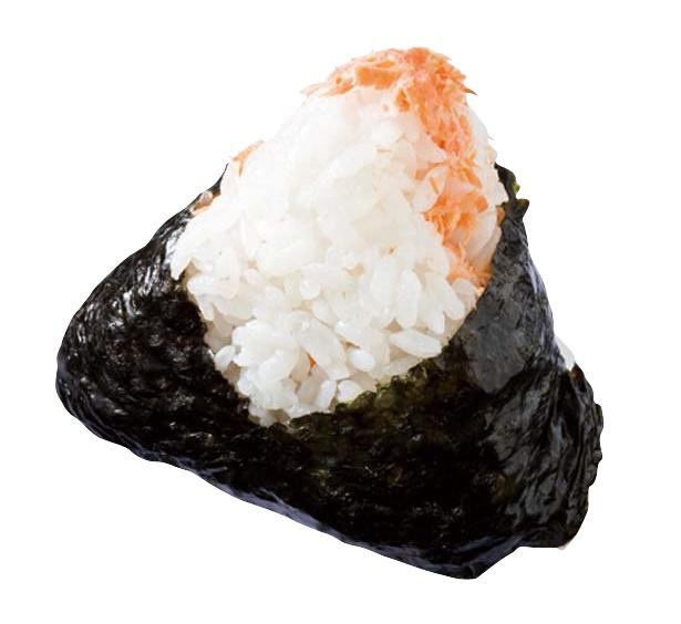 「しゃれむすび」の鮭(194円)/大丸京都店