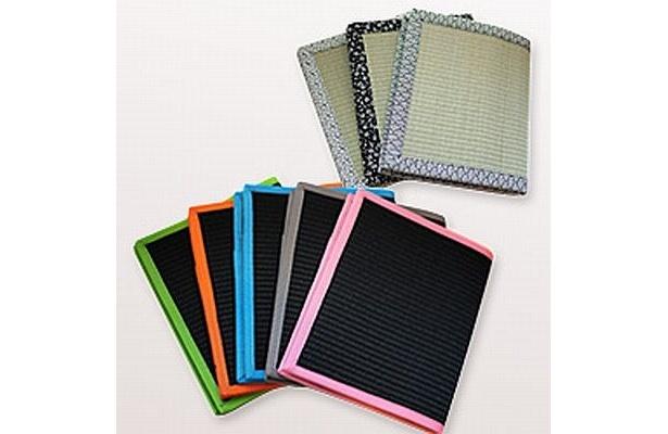 畳の素材感や香りが存分に楽しめるiPad用ケース「Tatami-Pad(タタミパッド)」(3980円)が登場