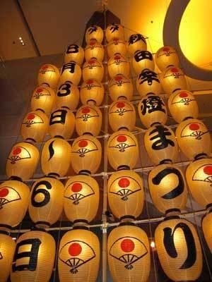 秋田・竿燈まつりで使用する大岩