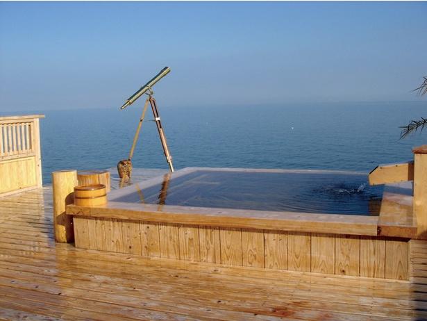 見渡す限りの有明海と自慢のカニグルメを堪能 / 星降る露天とかにまぶし 豊洋荘