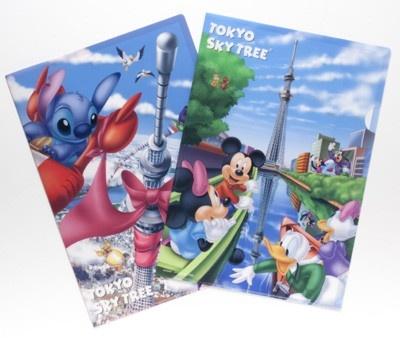 完成時の高さ634mに到達した「東京スカイツリー(R)」を記念し、ディズニーとスカイツリーのWライセンス商品第2弾が完成!