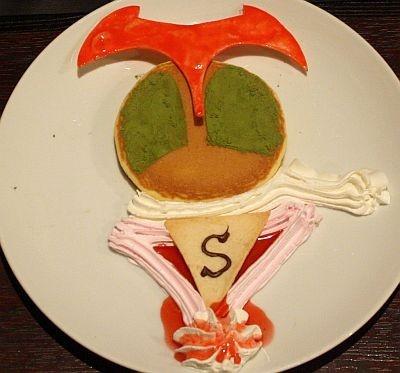 「ストロンが―ストロベリーホットケーキ」