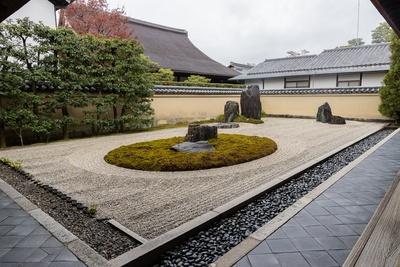 大徳寺 龍源院の方丈南庭「一枝坦」