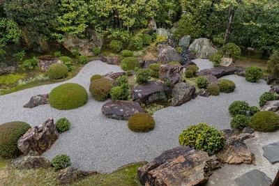 妙心寺 退蔵院の元信の庭
