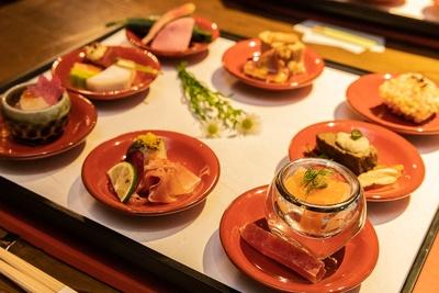 フレンチと京料理のマリアージュが楽しめる