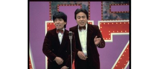 """西川のりお・上方よしおも""""THE MANZAI""""に出演して大ブレイクを果たした一組"""