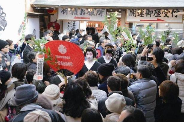 十日恵比須大祭 / 1年の開運、商売繁昌の祈願