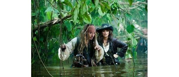 ジャック・スパロウがかつて愛した女海賊アンジェリカ役にペネロペ・クルス