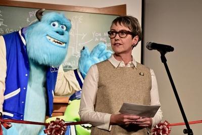 『PIXARのひみつ展』でシニア・マネージャーを務めるマレン・A・ジョーンズ