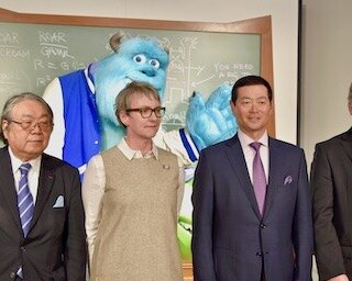 グランフロント大阪で『PIXARのひみつ展』が開催。開会式に桑田真澄がスペシャルゲストとして登場