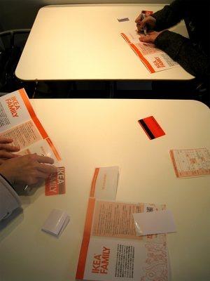 12/20〜25までのプレセールに参加できるIKEAファミリーに入会。お得なことがいっぱいのカードだ