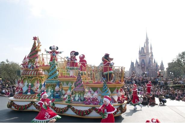 2013年 東京ディズニーランド「 サンタヴィレッジ・パレード」