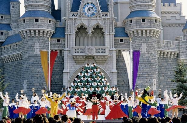 1984年、開園翌年の『クリスマス・ファンタジー』