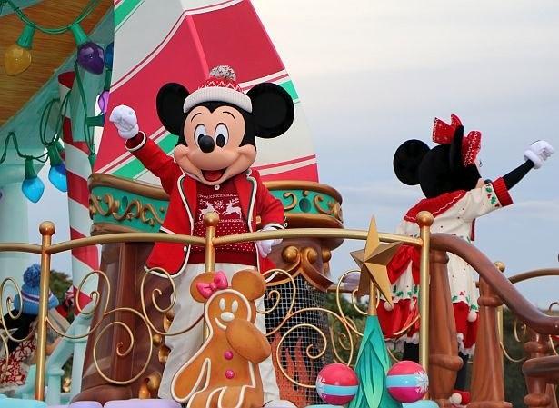 今年(2019年)、東京ディズニランド『ディズニー・クリスマス』