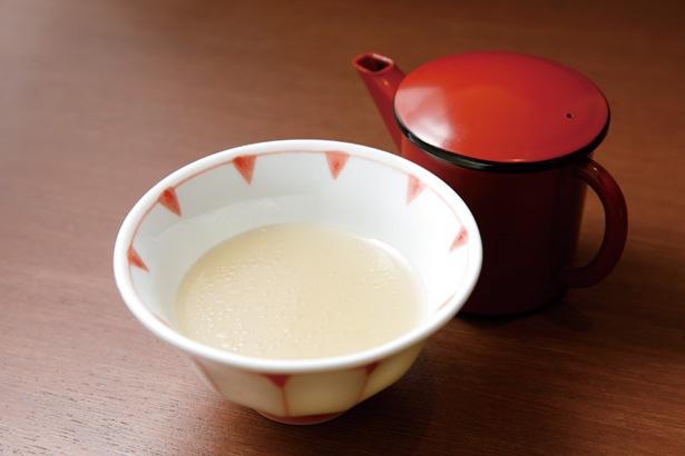牛骨スープが味の決め手 / 肉 澤正