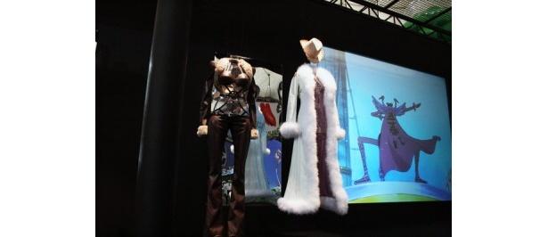 アラバスタミュージアムでは、リアルな衣装などを展示