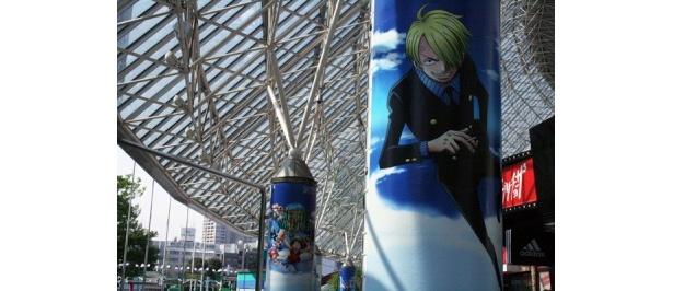 東京ドーム周辺も「ワンピース」でいっぱい!