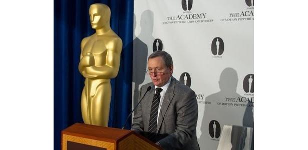 【写真】ノミネート発表と授賞式の日時について、米映画芸術科学アカデミーのトム・シャーク会長がコメント