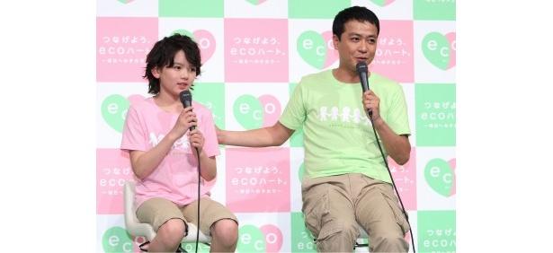 【写真】濱田の大人顔負けのコメントに中山もビックリ!