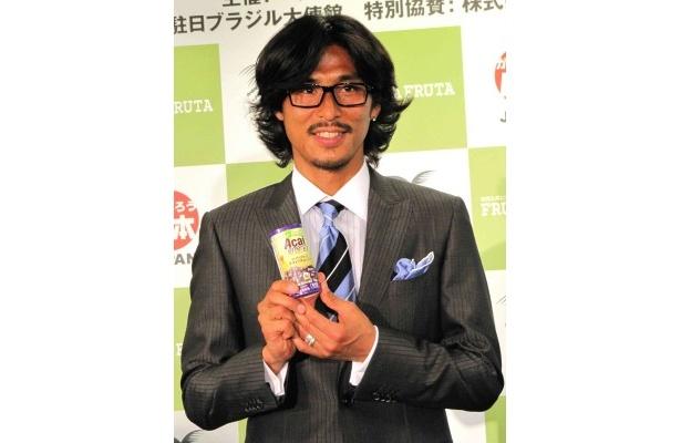 【写真】「バスケットの田臥勇太くんに真っ先にアサイーを勧めました」と交友関係を明かした中澤佑二