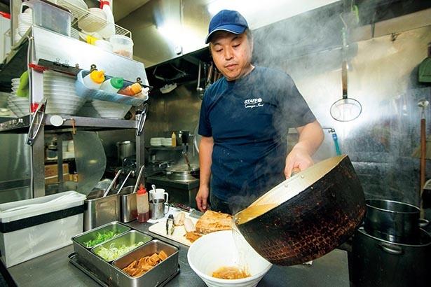 佐野ラーメン店「とかの」(閉店)で2年間学んだ店主・小野寺仁史さん
