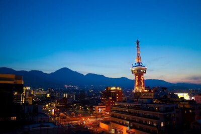 昭和のムードがゆったりと漂ってる / 別府タワー