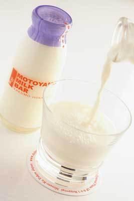 「元山牧場」の牛乳は濃厚でクリーミーな味わい