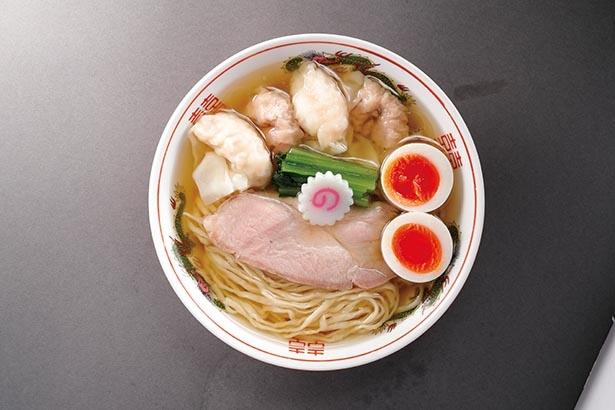 複数の魚介の旨味が、混然一体となって口に流れ込む / キング製麺(王子・王子駅前)