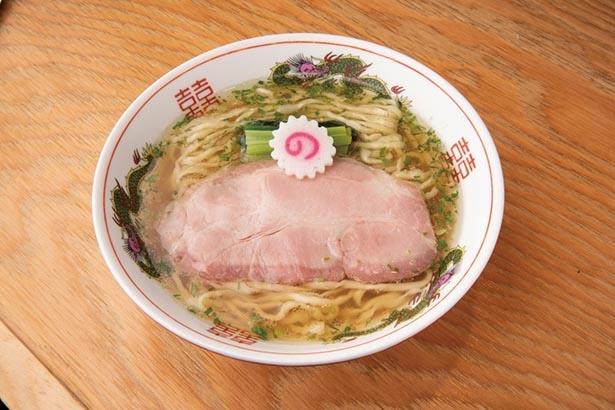 【画像】名店の香り豊かな「山椒ラーメン」 / キング製麺(王子・王子駅前)