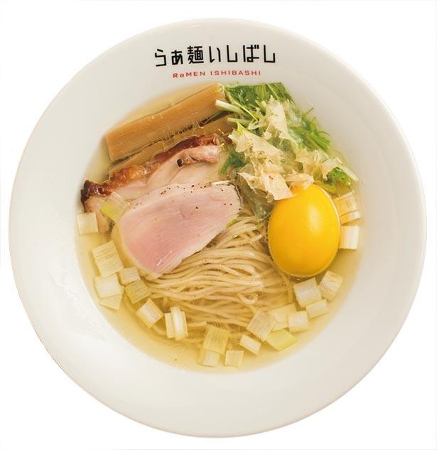 シンプルで奥深い鶏100%スープ / らぁ麺 いしばし(南阿佐ケ谷)