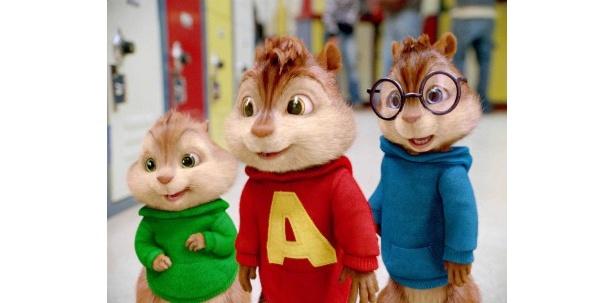 【写真】家族で楽しめる映画作品も!コメディー映画「アルビン2 シマリス3兄弟vs.3姉妹」