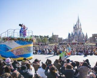 東京ディズニーランドでお正月限定パレードを実施!