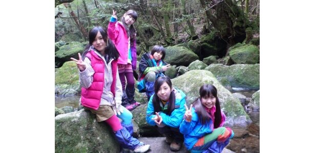 Dream5は屋久島で密林に響く命の水の音を聞く