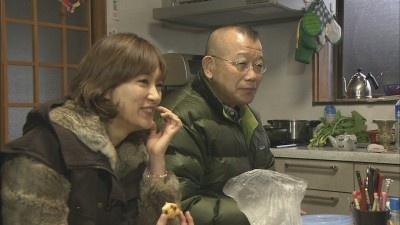 喫茶店を経営する夫婦の奥さんの実家を訪れ、家庭の味を