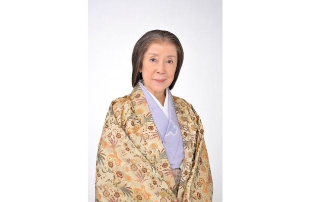 秀吉の母・なか(大政所)を演じる奈良岡朋子が「江」演技論や共演者についてを語る
