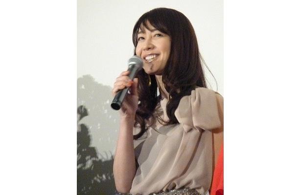 「田中さんが演じた夫はどうしようもない男」と語った森口瑤子