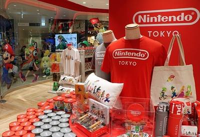 JAPAN CULTUREを発信する6Fには「Nintendo TOKYO」が