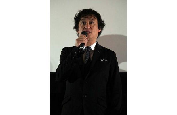 田中をキャスティングした理由について語る塩屋監督