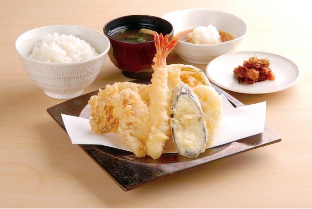 たかお定食(税込1000円) / 博多天ぷら たかお