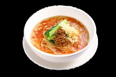 濃厚担々麺(単品730円、蒸し小籠包セット980円) / 鼎's 福岡パルコ店