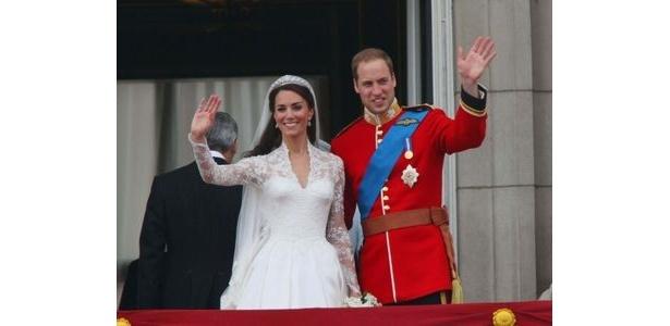 現地時間4月29日に行われたウィリアム王子とキャサリン妃の挙式。世界で20億人がテレビで見たと言われている