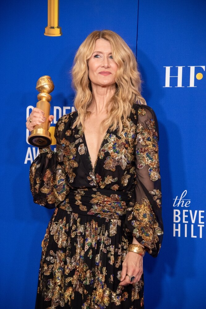 あまり振るわなかったNetflixから、映画部門で『マリッジ・ストーリー』のローラ・ダーンが助演女優賞を受賞